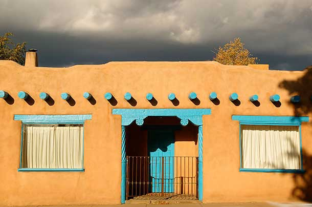 Adobe Houses Building With Mud