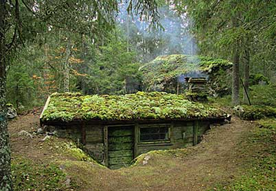 Earth berm homes designs for green living Earth bermed homes
