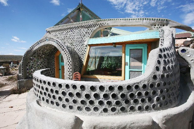 Earthship Homes Eco Friendly Use Of Tires And Dirt