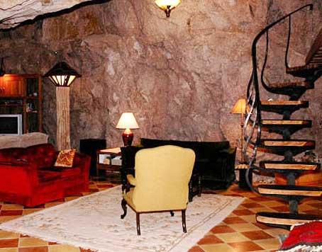 Unless  that is you re going to go upscale with your cave home then the sky   or the ground  is the limit  Plus your imagination and that of your  architect Cave Homes   Advantages and Disadvantages of Living Underground. Underground Cave Home. Home Design Ideas