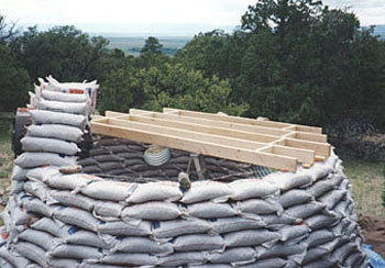 Rice Hull Bagwall Construction