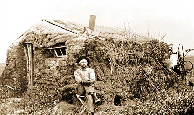 Image Gallery Sod Houses: building a house in oklahoma