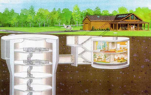 Your underground home design should include the way you will bring